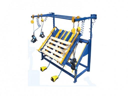 Универсальный пневматический стол для изготовления деревянных подносов разной конструкции и различных габаритов HS1403